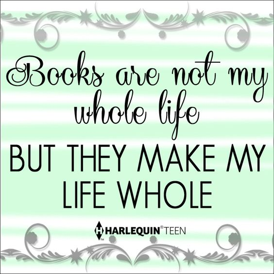 #HarlequinTEEN #ForTheLoveOfBooks If you HAD to choose, which ONE book completes you?