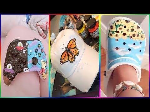 Amazing People Painting Random Things On Tik Tok Part 14 Youtube Fun Diy Crafts Tik Tok Fun Diys
