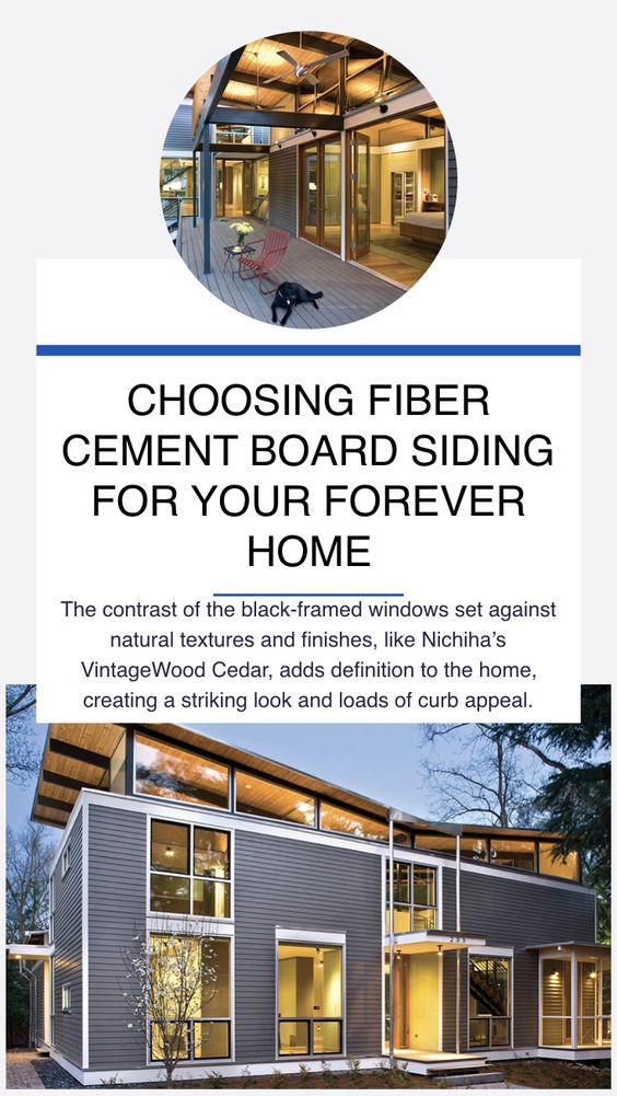 The Popularity Of Black Trim Has Grown The Contrast Of The Black Framed Windows Set Against N Fiber Cement Board Siding Cement Board Siding Fiber Cement Board