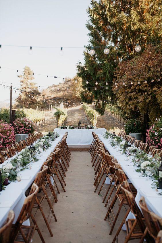 Dusky Pink Washington Winery Wedding via Magnolia Rouge