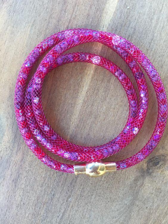 DIY: Bracelet resille tubulaire et perles: