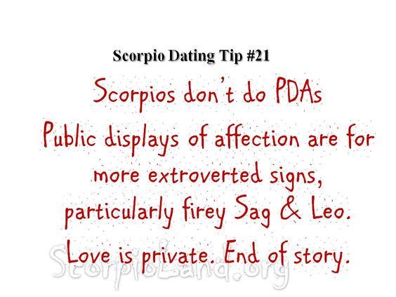 Scorpio dating tips #2
