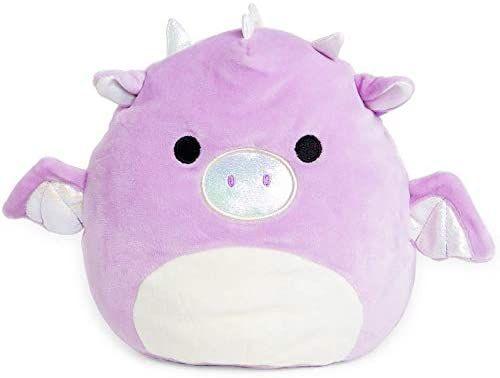 Amazon Com Squishmallow Kellytoy 8 Inch Purple Dragon Toys Games Cute Stuffed Animals Monkey Stuffed Animal Animal Pillows