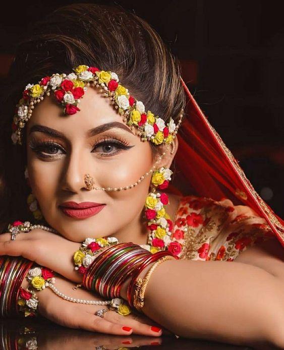 #floraljewellery #floraljewellerydesigns #latestjewellerytrends #eventila #indianwedding #indianbride #floral #jewelry #jewellery #weddings2019 #weddingphotography
