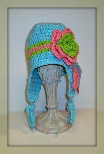 So sweet!: Rose, Sweet, Crochet Hats, For The Girls, Baby Hats, Cotton Crochet
