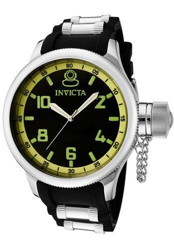 Men's Russian Diver Black Dial Black Polyurethane, $4,800MXN #Relojes