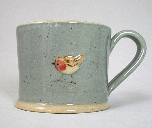 tiny bird mug