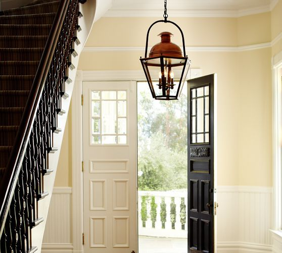 Foyer Lighting Pottery Barn : Copper pottery barn lighting and entryway on pinterest