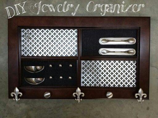 Cabinet Door Jewelry Organizer By Cabinet Doors Amp More