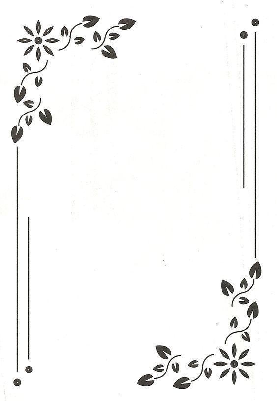Carterie Pergamano Et Tableaux 3d Page 2 Frame Border Design Borders For Paper Clip Art Borders