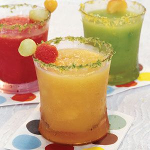 Seasonality is an important factor for this drink because ripe watermelon offers the sweetest flavor. Our panel suggested adding more ginger ale and blending it just a bit more to make it supremely slushy. Sub cantaloupe or honey dew for a fun flavor twist.