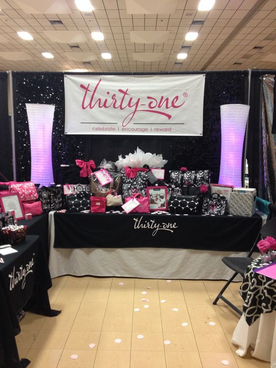 Thirty One Vendor Show Set Up Thirty One Gifts I Love