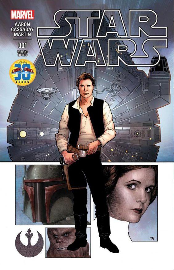Impresionante la portada de Frank Cho para #StarWars A TODO COLOR