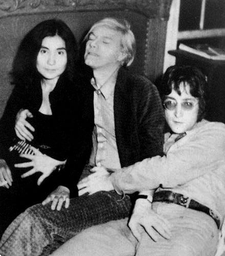 Andy, John & Yoko <3: