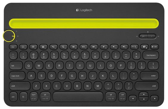 Logitech Bluetooth Multi-Device Keyboard K480 for Computers, Tablets and Smar... #logictech