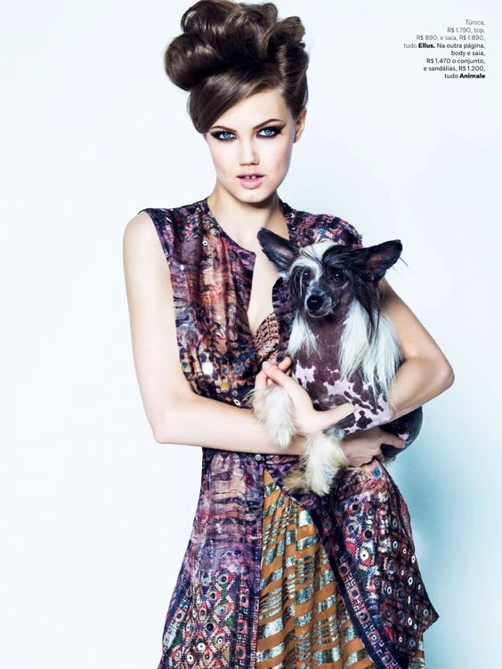 #LindseyWixson by #JacquesDequeker for #VogueBrazil August 2013