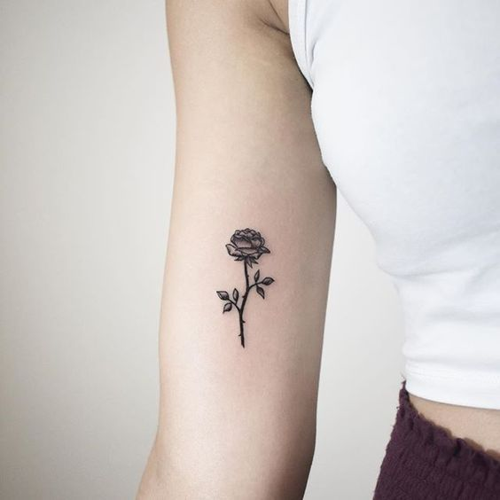 26 Eye Catching Rose Tattoo Ideas For You Flower Tattoos Rose Tattoos Beautiful Tattoos Wrist Tatto Small Rose Tattoo Rose Tattoos On Wrist Shoulder Tattoo