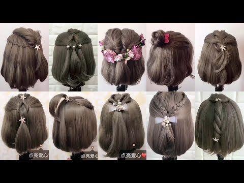 أحلى واشيك تسريحات شعر قصير للاطفال Youtube Cool Hairstyles For Girls Cool Hairstyles Hair Styles