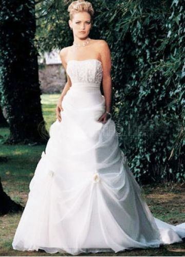 explore white ball gowns