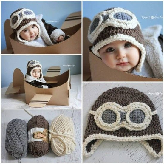 Crochet Newborn Aviator Hat Pattern : Crochet Aviator Hat Youtube Video Lots Of Free Pattern ...