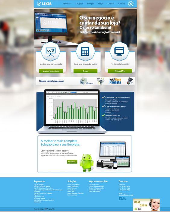 #website    Seu site com um layout exclusivo e conteúdo gerenciável. Confira as vantagens dessa tecnologia acessando: www.esgpropaganda.com.br  Cliente: http://www.lexos.com.br/