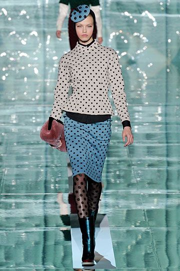 Marc Jacobs...  Lots of dots.  But I love the top