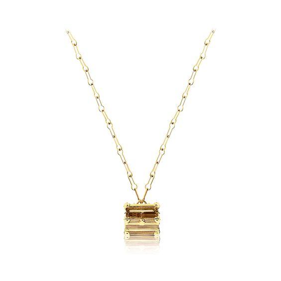 Discover Louis Vuitton Petite Malle open necklace via Louis Vuitton $6800.00