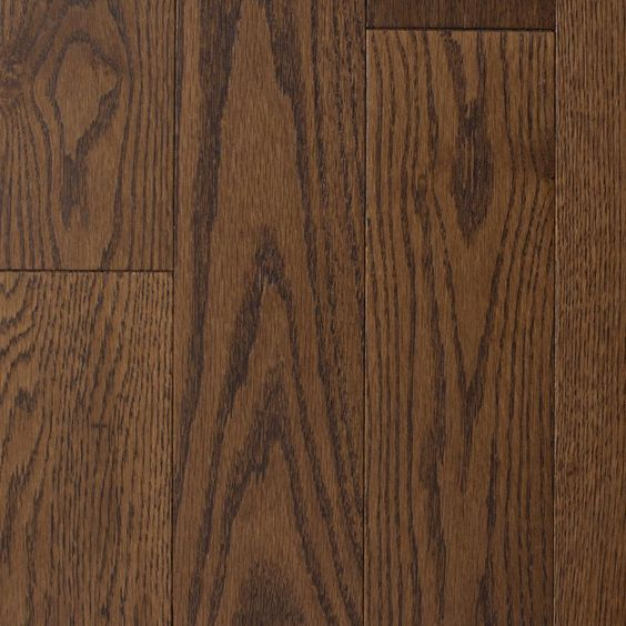 Blue Ridge Hardwood Flooring Wire Brushed Oak Bark 3 4 In T X 4 In W X Random Length Solid Hardwood Flooring 16 Sq Ft Case 23050 The Home Depot In 2020