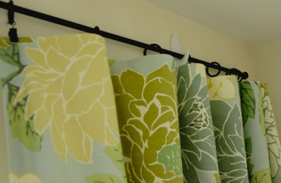 Curtain Rods Hanging Curtains And On My Own On Pinterest