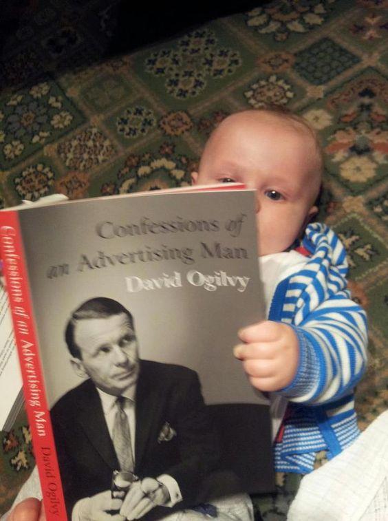 Si no leíste un libro de Ogilvy cuando eras niño, no tuviste infancia.