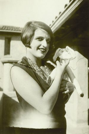 Ayn Rand at the Hollywood Studio Club in the 1920s