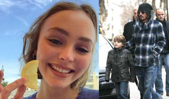 Johnny Depp's Daughter & Son - 2016