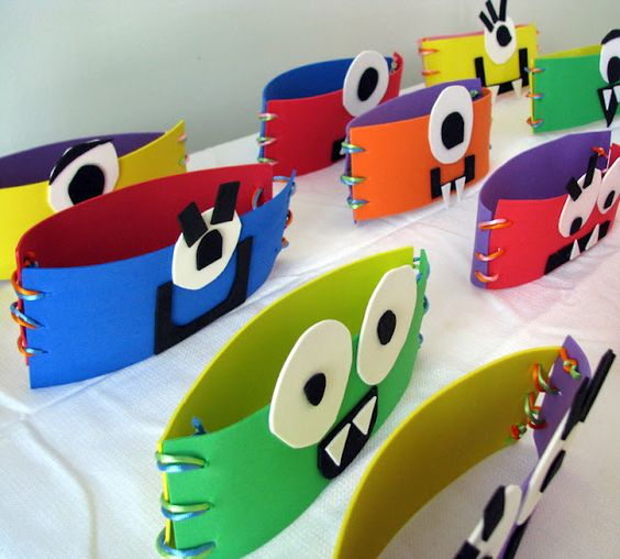 DIY Monster Party Hats    The Scott Life