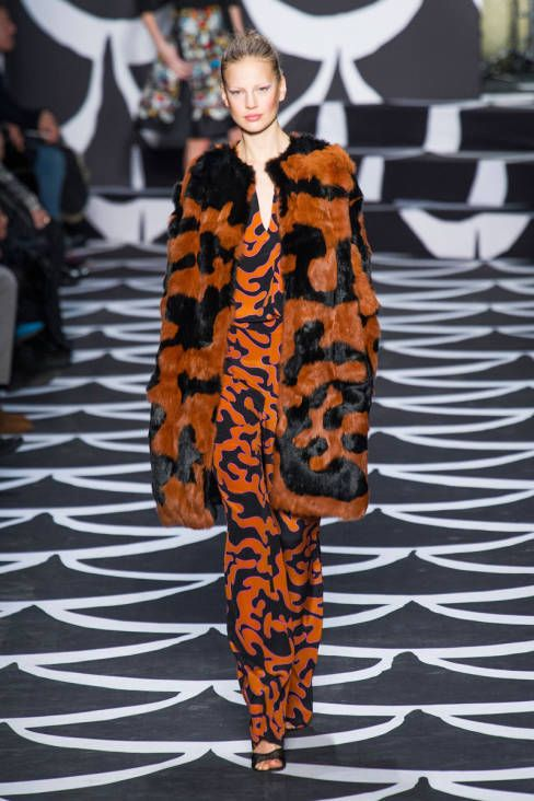 Diane von Furstenberg Fall 2014 Ready-to-Wear Runway - Diane von Furstenberg Ready-to-Wear Collection