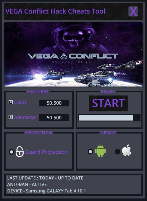 VEGA Conflict Cheats Hack Tool