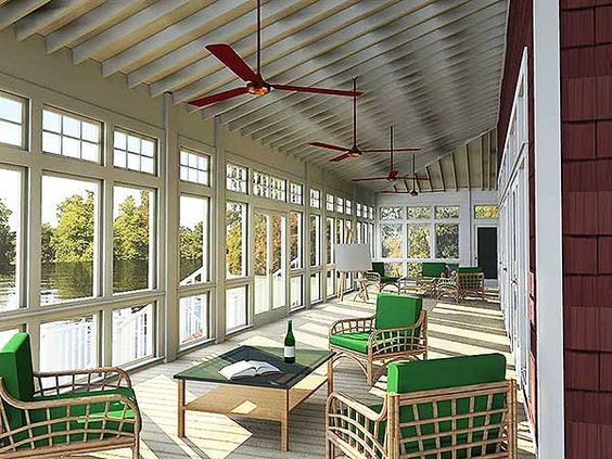 Plan 86245hh Views To The Back Country Style House Plans House Plans House With Porch