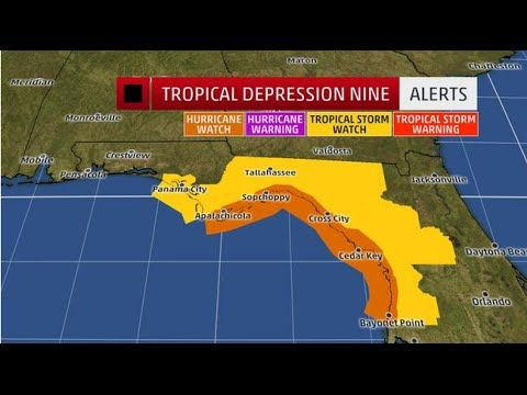 HURRICANE WATCH ISSUED FOR FLORIDA - well aint that a shame I guess I might have to spend a extra day or 2 in S. Fl