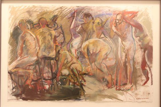 """""""Gestural Figures"""" by Martin Beck His Website: http://www.beckstudio.com/default.aspx"""