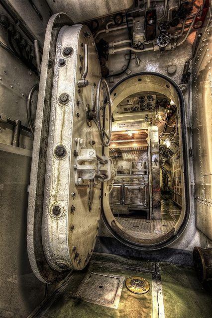 Submarine entrance flickr photo sharing juude for Entrance to rivet city