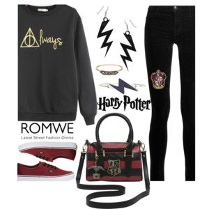 ROMWE Harry Potter Sweatshirt