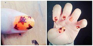 Nail Art : Autumn Leaves