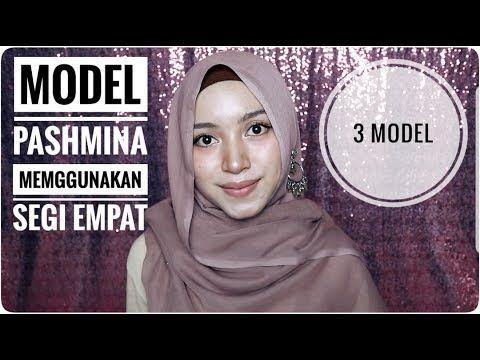 Tutorial Hijab Pashmina Menggunakan Hijab Segi Empat Youtube Hijab Tutorial Hijab Video Hijab