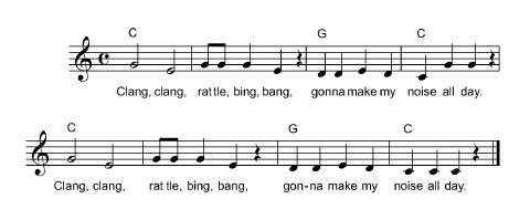 Mortimer | A Lesson in Solfege | Free Lesson Plan- I've always used Mortimer to teach playing higher and lower on the scale on mallet instruments, but I like the idea of using it for solfege too.