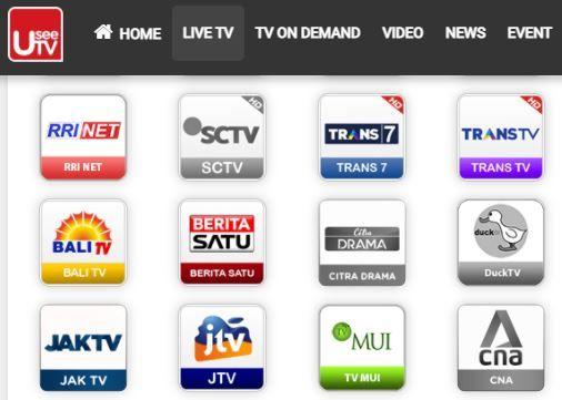 Cara Nonton Tv Di Hp Android Secara Gratis Di Usee Tv Di 2021 Android Penguat Sinyal Aplikasi