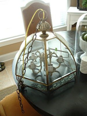 Revamp that old chandelier!