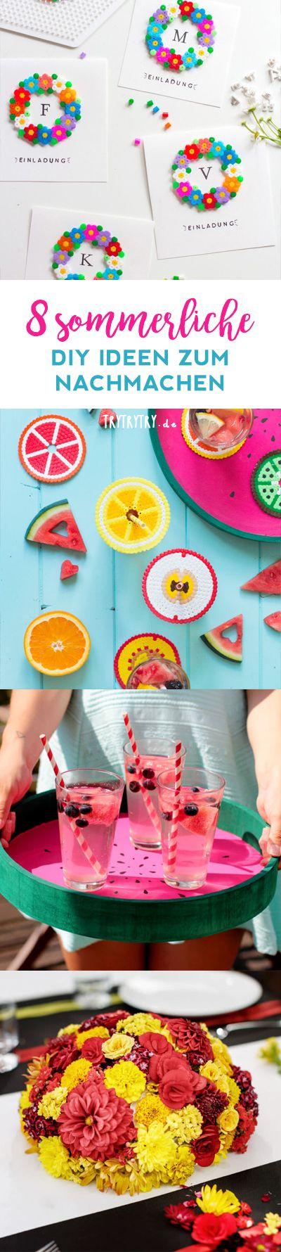 8 sommerliche DIY's