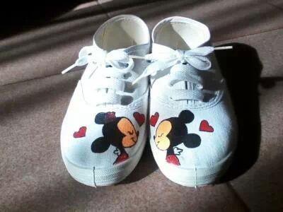 Zapatillas personalizadas.