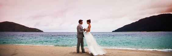 Beach wedding, Beach villas, Hayman, Queensland, Australia : Wedding Beach, Wedding Stuff, Beach Weddings, Beach Villas