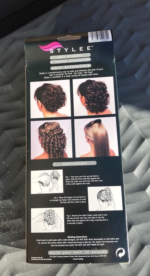 Stylee Hair Extensions Comb Bnib Light Brown Blonde Curly Civil War Victorian Comb Bnib Light Brown To Blonde Hair Extensions How To Look Skinnier