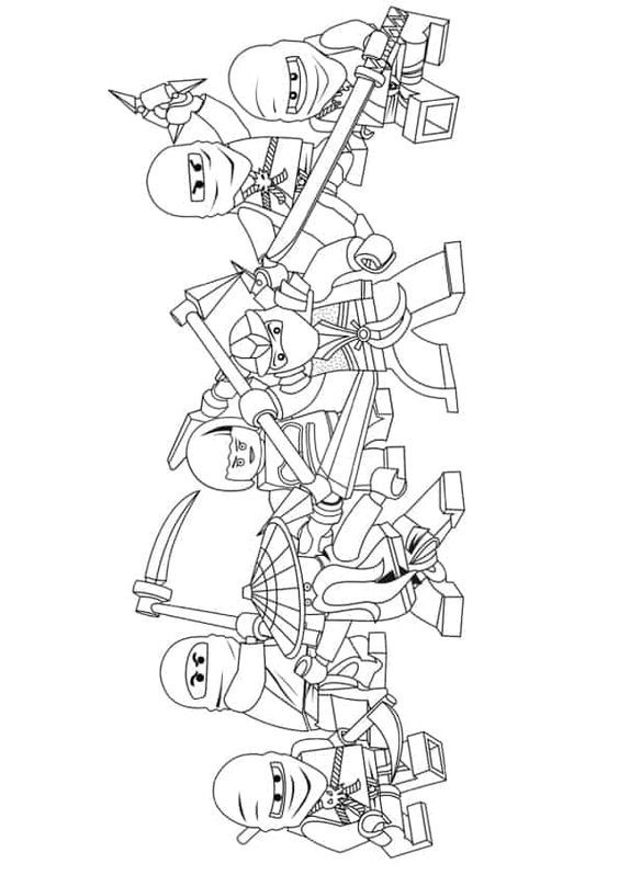 Pin By Freude Kinder On Ausmalbilder Zum Ausdrucken Ninjago Coloring Pages Coloring Pages Coloring Books